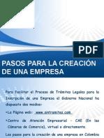 Pasos Para La Constitución de Una Empresa publica y importante