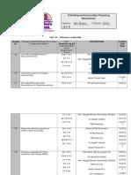 2013-2015 field based internship