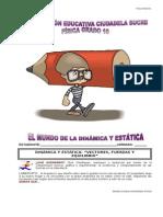GUÍA FÍSICA DINAMICA Y ESTATICA 10.doc