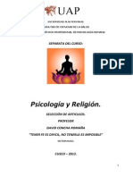 Romaña-Psicologia y Religion