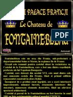 Fontainebleau Este Un Oraş Din Franţa, Sub-prefectură