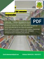 Dia mundial del Consumo Responsable