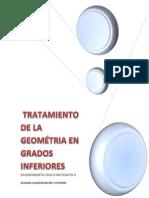 TRATAMIENTO DE LA GEOMETRIA EN GRADOS INFERIORES