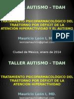 05tdah y Autismo Dr. Leon Ene2014