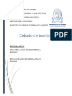 Cebado de Bombas