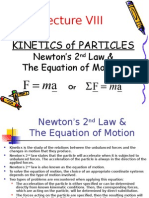 Dynamics Class Notes Ch3 VIII