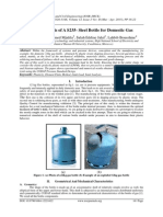 Limit Analysis of A S235- Steel Bottle for Domestic Gas