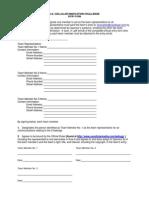 Innovation Challenge Entry Form 2015