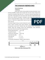 perhitungan  hidrolis bendung