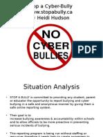 stop a bully presentation