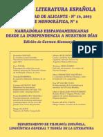 Anales de Literatura Española Soledad