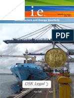 Infrastructure and Energy Quarterly July 2014