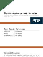 Barroco y Rococó en El Arte