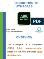 Introduction to AVR Microcontroller Atmel Atmega16
