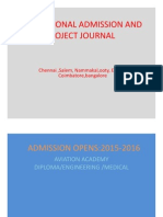 Admission Opens 2015 2016