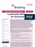 Leadership Skills Review CIMA