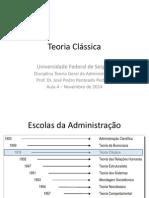 Teoria Geral da Administração - Teoria Clássica