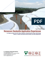 Product Applications - Nonwoven Geotextile