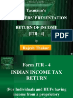 How to file ITR4?