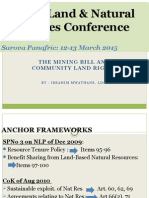 Mwathane-The Mining Bill and Community Land Rights