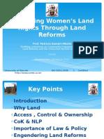 Women and Land - Prof. Patricia Kameri-Mbote