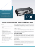 DGS-1016D 1024D Datasheet