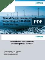 Sound Power Measurements Noise Workshop Oxford 2012-3-2 Thomas Hansen