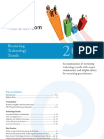 Recruiting Technology and Recruiting Software Trends