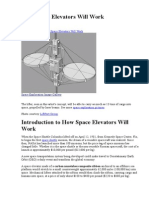 How Space Elevators Will Work