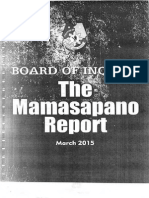 The Mamasapano Report
