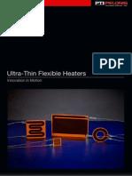 Ultra-Thin Flexible Heaters