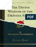 The Divine Wisdom of the Dravida Saints 1000332788