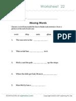 Oz Phonics Worksheet 22