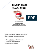 Lecture 1-Principles of Translation