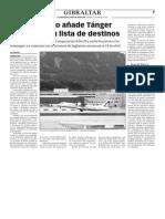 150313 La Verdad- El Aeropuerto Añade Tánger y Bristol a Su Lista de Destinos