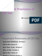 Cst Act CA Janak Vaghani Mumbai