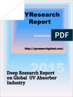 2015 Deep Research Report on Global UV Absorber Industry(Table of Contents)