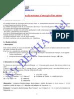 Quantifcation des nibveaux d'energie d'un atome.pdf