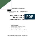 Elemente de baza in dinamica apelor subterane - Zamfirescu.pdf