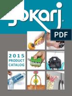 Jokari 2015 Catalog