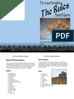 Rules TLK board game