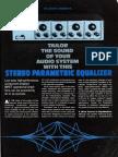 John Roberts Parametric EQ Audio Project