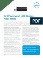 PowerVault MD3 Array Family Spec Sheet Eng