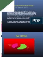 lÍquidos y Electrolitos en CirugÍa Dr. héctor