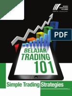 Belajar Trading Strategy Simple