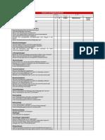 Check List Eigenkontrolle Brandschutz