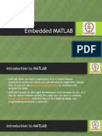 Embedded MATLAB