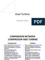 Axial Turbine (Selected Slides)