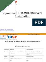 Dynamic CRM 2013