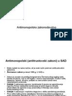 Antimonopolsko zakonodavstvo